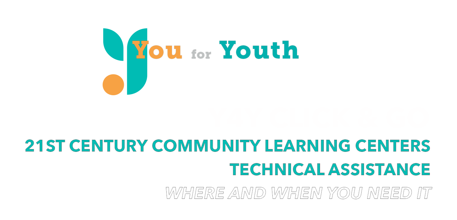Header Logo You for Youth and Y4Y Click & Go